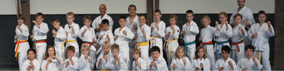 Karate voor kinderen in Gorinchem - les van Japanese meester