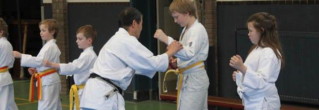 Karate voor kinderen in Gorinchem - persoonlijke aandacht