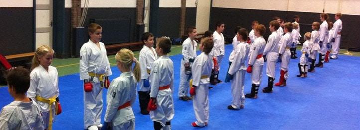 Karate voor kinderen in Gorinchem met discipline