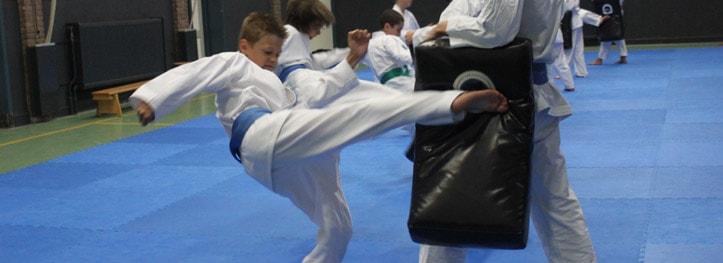 Karate voor kinderen in Gorinchem die sterk willen worden