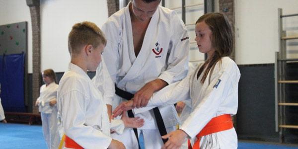 Karate voor kinderen in Gorinchem met betrokken leraren