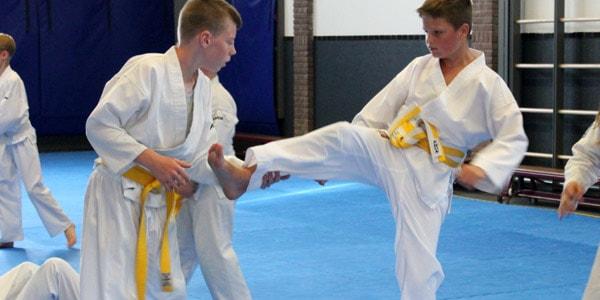 Karate voor kinderen in Gorinchem - verdedigen