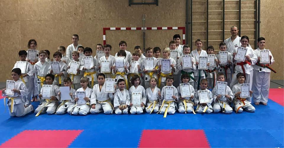 KarateKids Examen foto